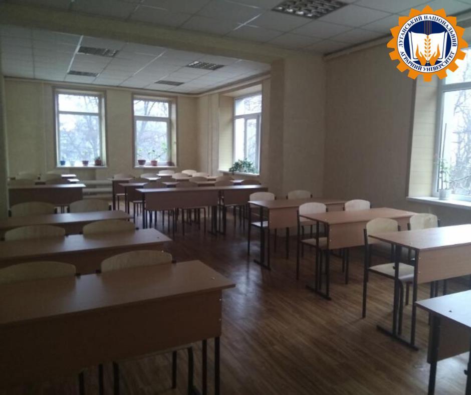 Нові меблі для студентів та викладачів Університету