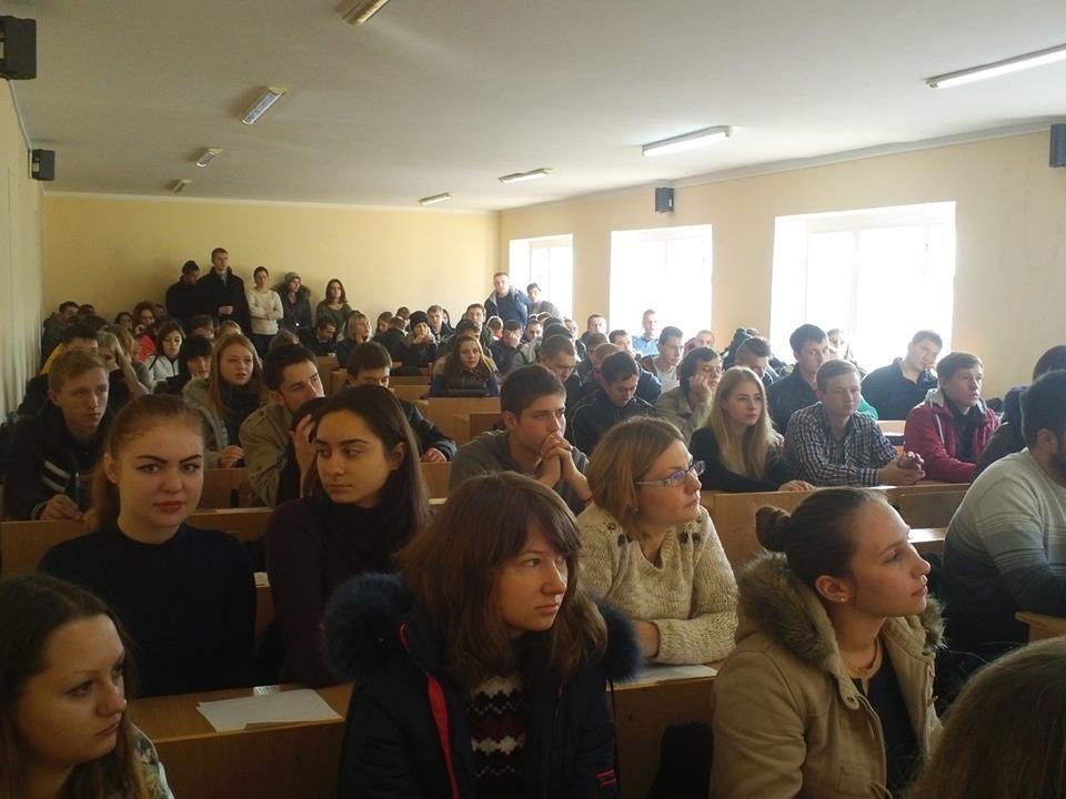 Збори студентів нового набору