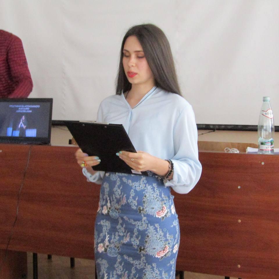 Аліна Давидова – новий студентський ректор