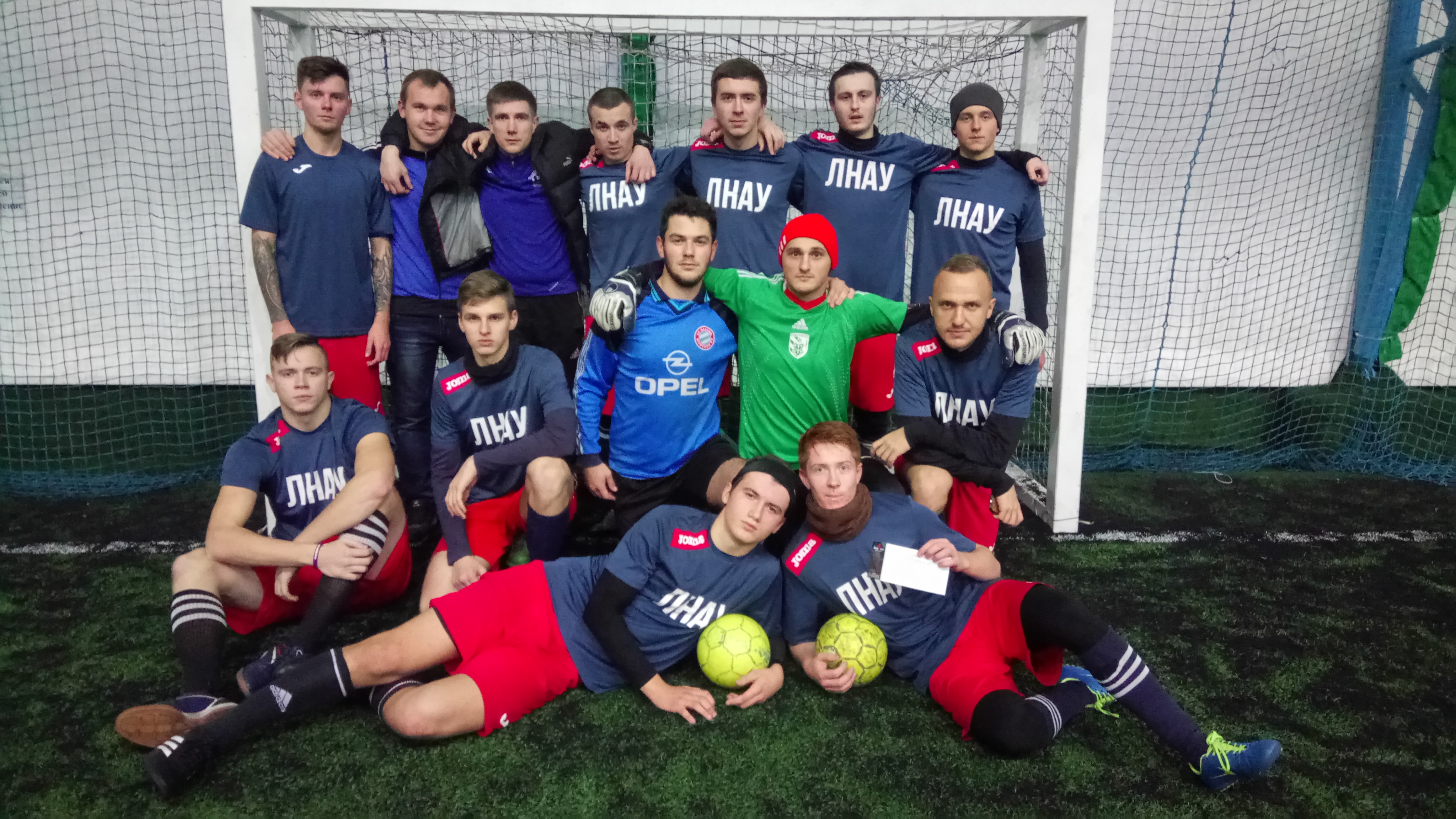 Есть! Первая футбольная победа ЛНАУ после перемещения в Харьков!