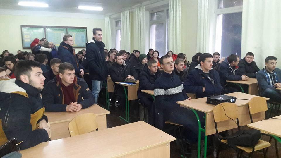 Зустріч студентів агрономічного факультету з представниками Harveast Holding