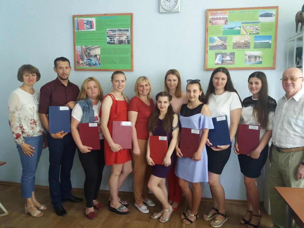 Захист дипломних робіт в Старобільську