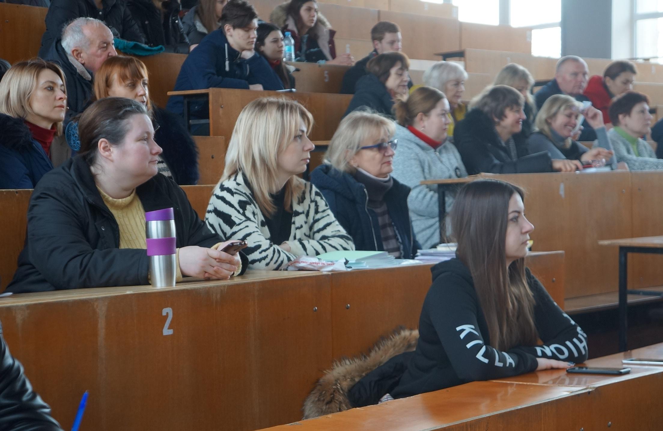 (Українська) Звітна науково-практична конференція в Луганському національному аграрному університеті